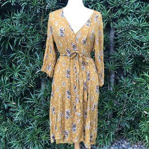 Prairie Wrap Dress